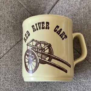 Vintage Red River Cart Mug